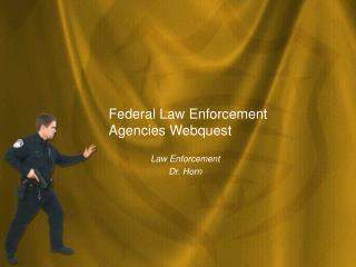 Federal Law Enforcement Agencies Webquest