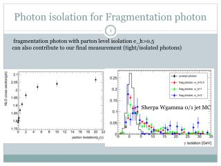 Photon isolation for Fragmentation photon