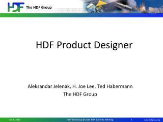 HDF  Product Designer