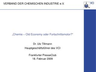 """Chemie – Old Economy oder Fortschrittsmotor?"""