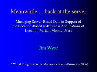 m -Business Environment