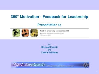 360 ° Motivation - Feedback for Leadership Presentation to