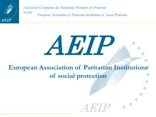 European Association of Paritarian Institutions of social protection