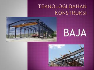 Teknologi bahan konstruksi