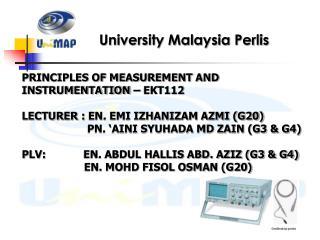University Malaysia Perlis
