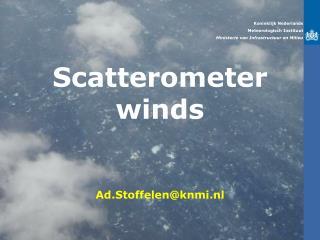 Koninklijk Nederlands Meteorologisch Instituut Ministerie van Infrastructuur en Milieu
