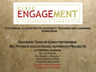 7th Annual Illinois State University Teaching and Learning Symposium