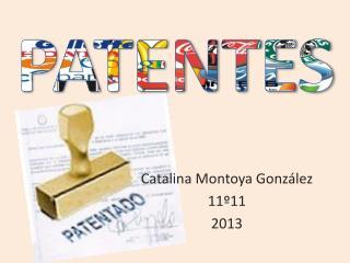 Catalina Montoya González 11º11 2013