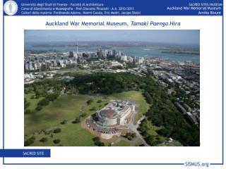 Auckland War Memorial Museum Arnika Blount