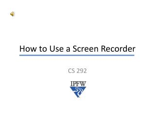 How to Use a Screen Recorder