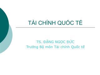 T I CH NH QUC T