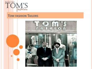 Fabulous Collection for Men & Women by Toms Fashion