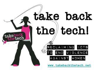 takebackthetech