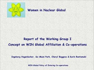 Report of the Working Group I Concept on WIN Global Affiliation & Co-operations