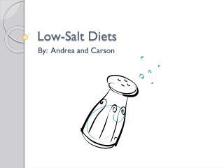 Low-Salt Diets