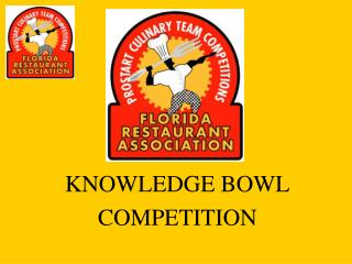 KNOWLEDGE BOWL  COMPETITION