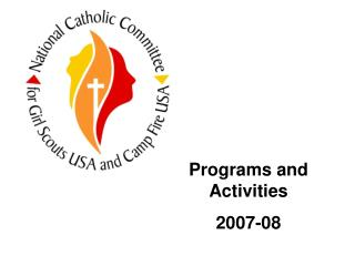 Programs and Activities 2007-08
