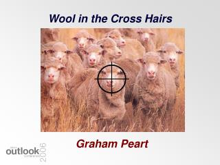 Wool in the Cross Hairs