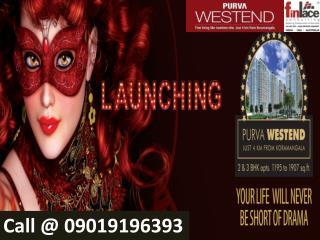 Purva Westent | Purva Westend Bangalore @ 9019196393