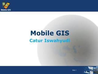 Mobile GIS Catur Iswahyudi
