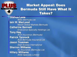 Market Appeal: Does Bermuda Still Have What It Takes?