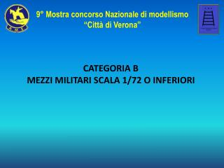 CATEGORIA B MEZZI MILITARI SCALA 1/72 O INFERIORI