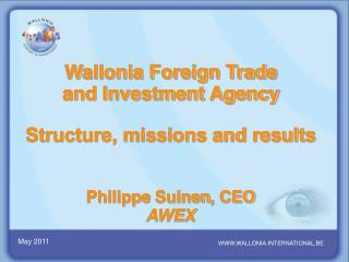 WWW.WALLONIA-INTERNATIONAL.BE