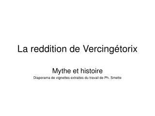 La reddition de Vercingétorix