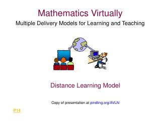 Mathematics Virtually Multiple Delivery Models for Learning and Teaching