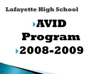 Lafayette High School