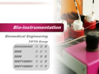Bio-instrumentation