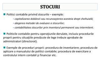 STOCURI
