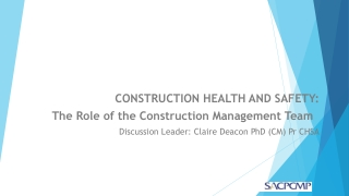 2008 Construction Conference