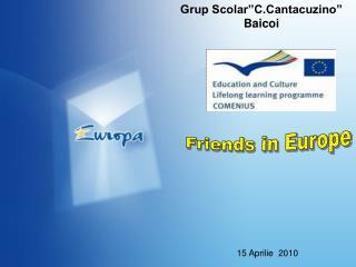 "Grup Scolar""C.Cantacuzino"" Baicoi"