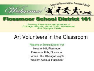 Art Volunteers in the Classroom