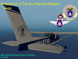Minnesota Wing Aircrew Training:  O-2107
