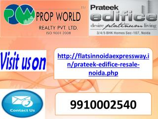 resale in prateek edifice (9910002540) sector 107 noida expr
