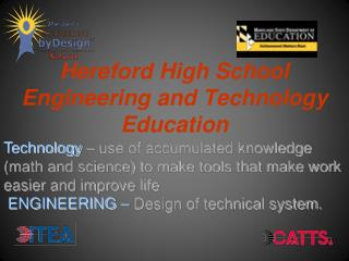 Hereford High School Engineering and Technology Education