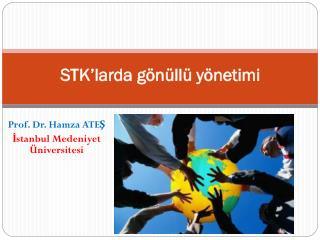 STK'larda gönüllü yönetimi