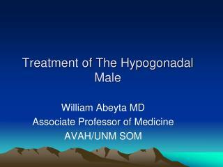 Treatment of The Hypogonadal    Male