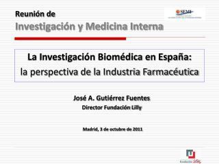 Reunión de Investigación y Medicina Interna
