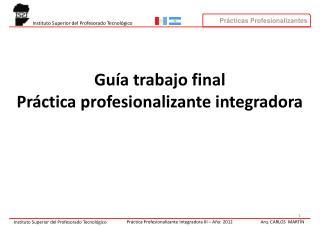 Trabajo Final Integrador PPI