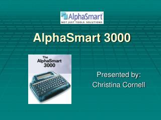 AlphaSmart 3000