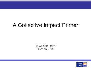 A Collective Impact Primer