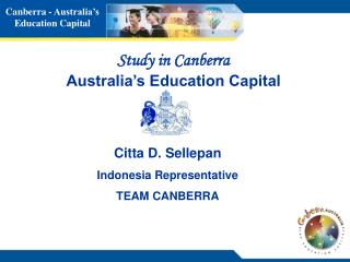 Study in Canberra Australia�s Education Capital