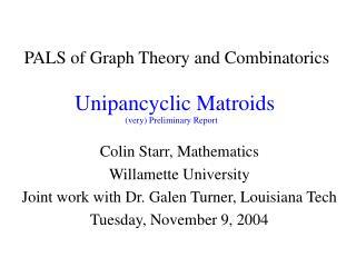 Unipancyclic Matroids