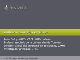 Asistencia para dejar el tabaco