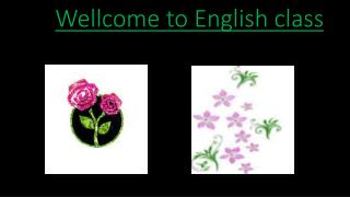 Wellcome  to English class