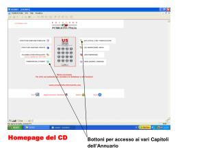 Homepage del CD