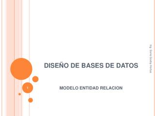 DISE�O DE BASES DE DATOS